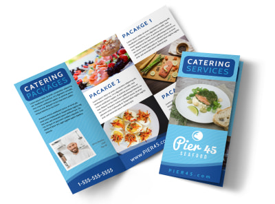 Catering Pricing Info Tri-Fold Brochure Template d95bpypm7u preview