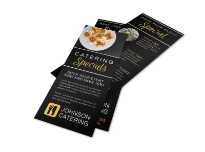 Catering  Promotional Sale Flyer Template 6fhyn1stln preview