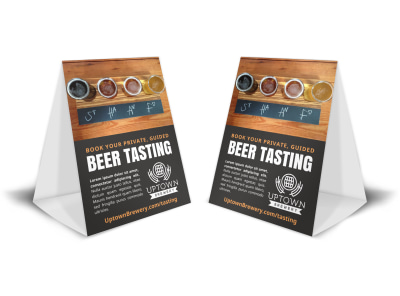Beer Tasting Table Tent Template tsf9q8gesu preview