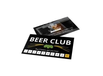 Brewery Loyalty Card Template 0o0fyjlmrc preview