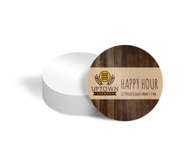 Brewery Coaster Template tqczijjwcy preview