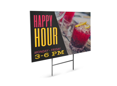 Bar Yard Sign Template enfumfmhhk preview