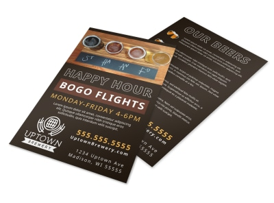 Happy Hour Bar Flyer Template rblvdh0puy preview