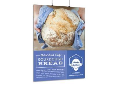 Featured Product Bakery Poster Template vztc61md5r preview