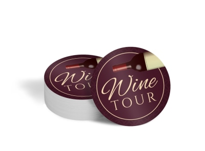 Wine Tour Coaster Template 312ffo58i3 preview