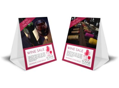 Wine Sale Table Tent Template yqd6ye3pwn preview