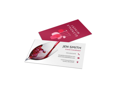 Winery Business Card Template 7xdepud815 preview