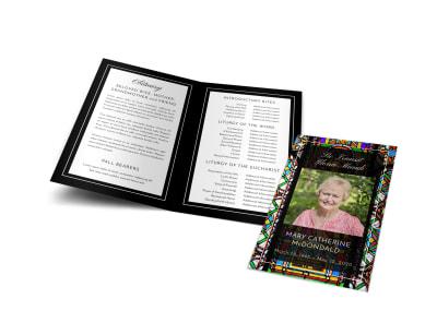 Catholic Funeral Program Template ceqr0c0r7z preview