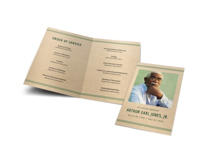 Order of Service Funeral Bi-Fold Program Template v1hz8hx6xr preview