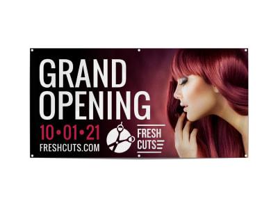 Hair Salon Grand Opening Banner Template lk2zkwaqkv preview