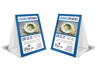 Restaurant Grand Opening Table Tent Template kmhyfz1hxs preview