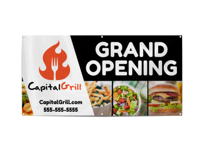 Restaurant Grand Opening Banner Template spv6l87rfv preview
