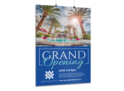Hotel Grand Opening Poster Template 7jg0d2j8mi preview