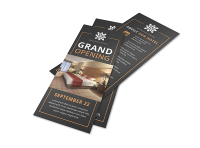 Hotel Grand Opening Flyer Template alx350epq5 preview