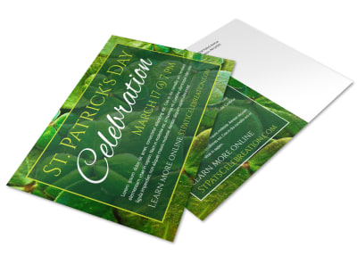 Saint Patrick's Day Postcard Template x4srtyo37a preview