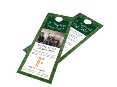 Saint Patrick's Day Door Hanger Template w0bhxfuqm0 preview