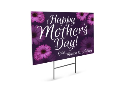 Mother's Day Yard Sign Template rkpnaun6or preview