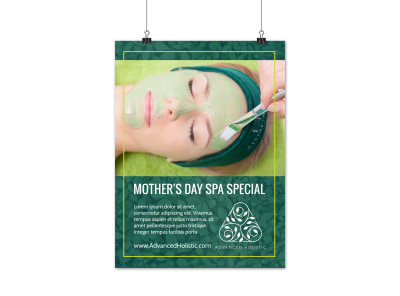 Spa Mother's Day Poster Template rkbhslkxhd preview