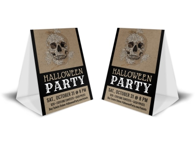 Halloween Party Table Tent Template uemgvjmn58 preview