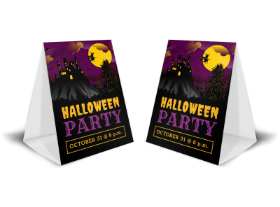 Halloween Party Table Tent Template rcihs3o356 preview