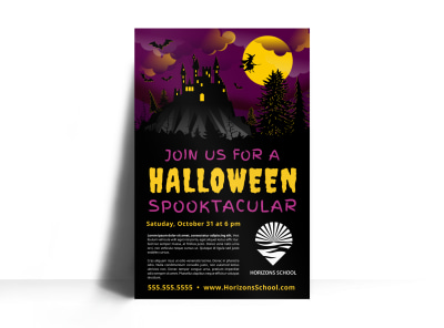Halloween Party Poster Template c9rv5pfic6 preview
