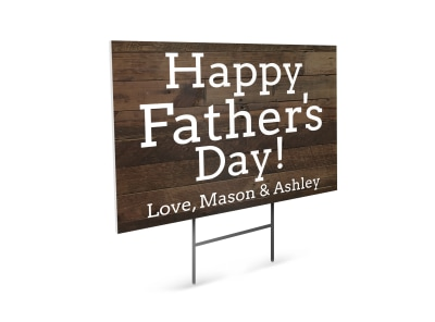 Father's Day Yard Sign Template ddl9li5i2a preview