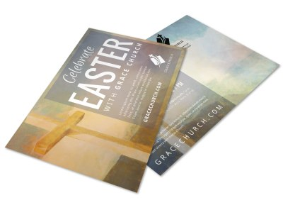 Easter Church Postcard Template h0c6x3i4zf preview