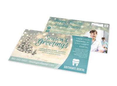 Christmas EDDM Postcard Template uil98z6mm2 preview