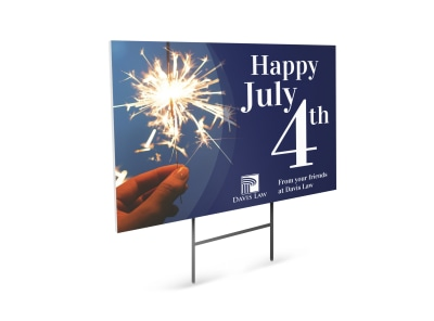 4th Of July Yard Sign Template 19ii4cpbq6 preview