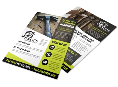 Home Improvement Handyman Flyer Template 81drt0xmwx preview