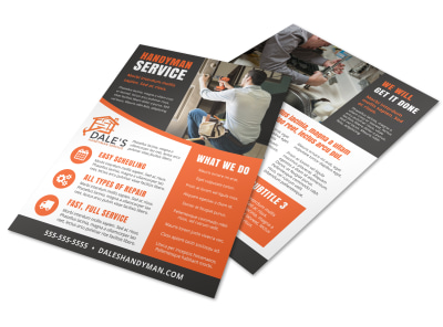 Home Improvement Handyman Flyer Template stz5a0mn8p preview