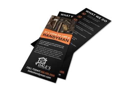 Handyman Skills Checklist Flyer Template vqbs86na9c preview