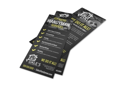 Handyman Skills Checklist Flyer Template i7xvlbsmsl preview
