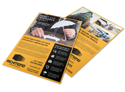 About Our Insurance Agency Flyer Template 6sntyhos4p preview