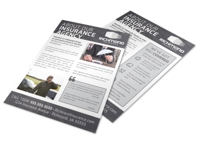 About Our Insurance Agency Flyer Template 05d946502c preview