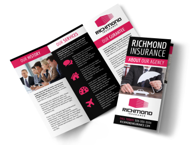 About Our Insurance Agency Tri-Fold Brochure Template cy88cdcr40 preview
