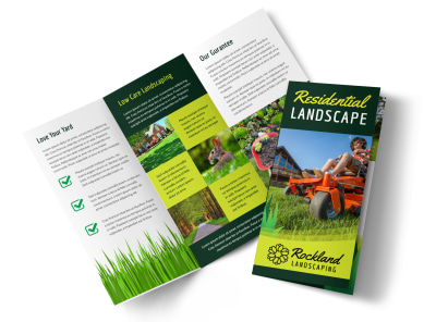 Residential Landscaping Tri-Fold Brochure Template z6s8xeb16h preview