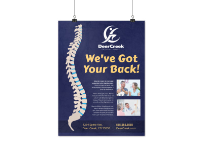 Physical Therapy Poster Template jrbff8sy57 preview