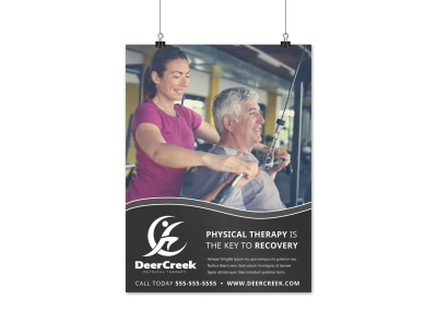 Physical Therapy Poster Template gsfx1g6mln preview
