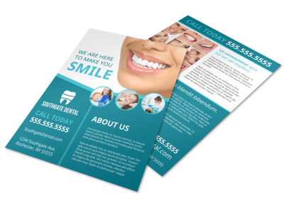 Dental About Us Flyer Template bfgusp09q1 preview