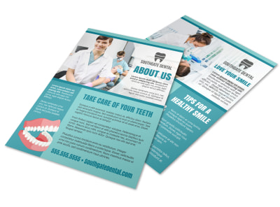 Dental About Us Flyer Template a5u9a9mfy6 preview