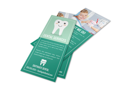 Dental Services Flyer Template vfto96h396 preview