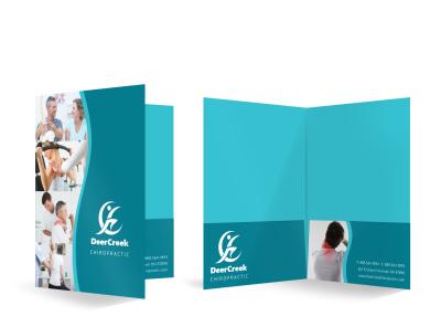 Chiropractic Bi-Fold Pocket Folder Template 9cm4uz0trn preview
