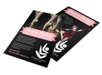 Dance Class Flyer Template irctnip5rr preview