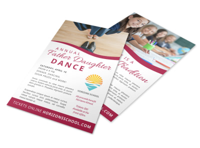 Father Daughter Dance Flyer Template 9gsch0aw1s preview