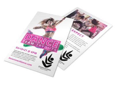 Dance Team Flyer Template i2d9fmdea2 preview