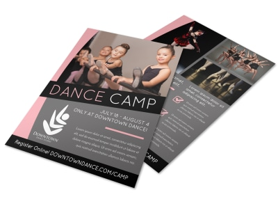 Dance Camp Flyer Template 7pelyjvobg preview