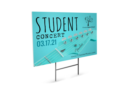Concert Yard Sign Template 2yuz9qej94 preview