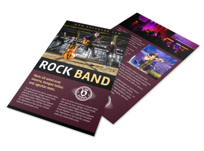 Rock Band Flyer Template xekuouom0o preview