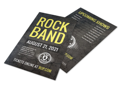 Rock Band Flyer Template 2xji48t011 preview